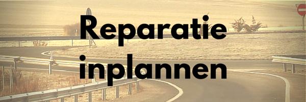 Reparatie inplannen